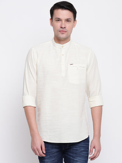 Mens Cream Shirt