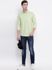 Cotton Green Casual Button-down Front Shirt