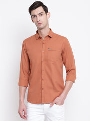 Mens Rust Shirt