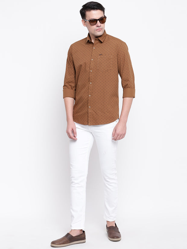 Mens Dark Fawn Shirt