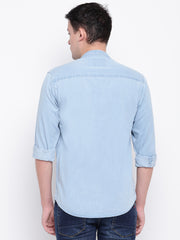 Mens Ice Blue Shirt