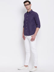 Mens Purple Shirt