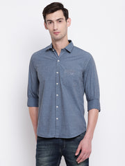 Mens Stone Blue Shirt