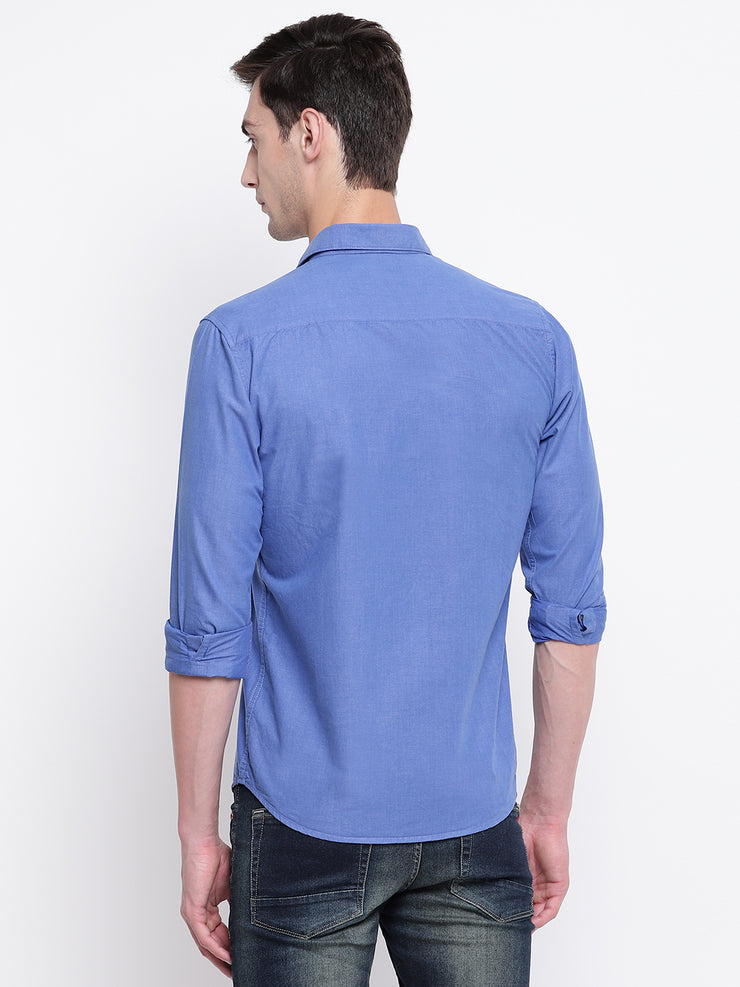 Mens Royal Blue Shirt