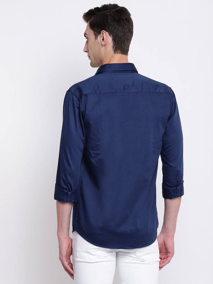Mens Blue Shirt