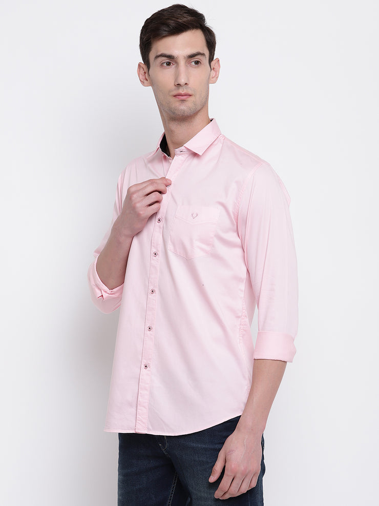 Mens Light Pink Shirt
