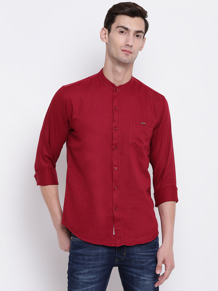 Mens Red Shirt