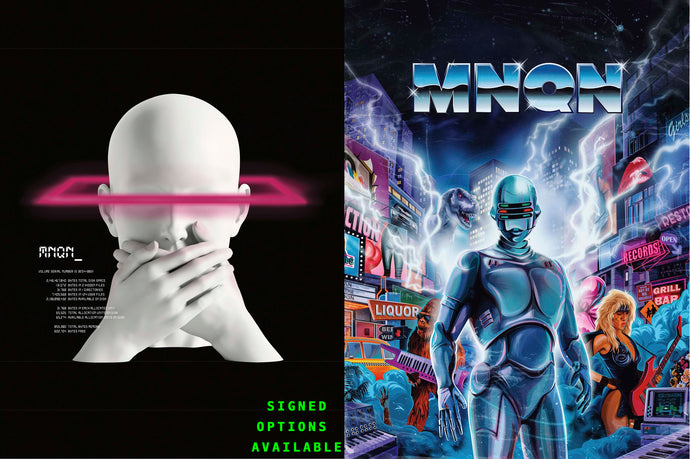 MNQN COVER & RETRO WORLD POSTER BUNDLE