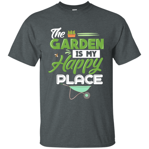 The Garden is My Happy Place T-Shirt,Zany T-Shirt