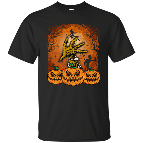 Image of Halloween Lover of Witches, Pumpkins or Zombies T-Shirt