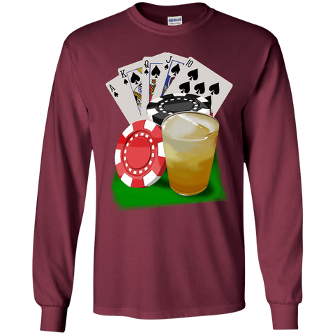 Royal Flush Long Sleeve T-Shirt