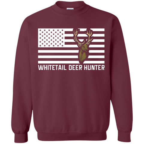 Whitetail Deer Hunter Sweatshirt  8 oz.