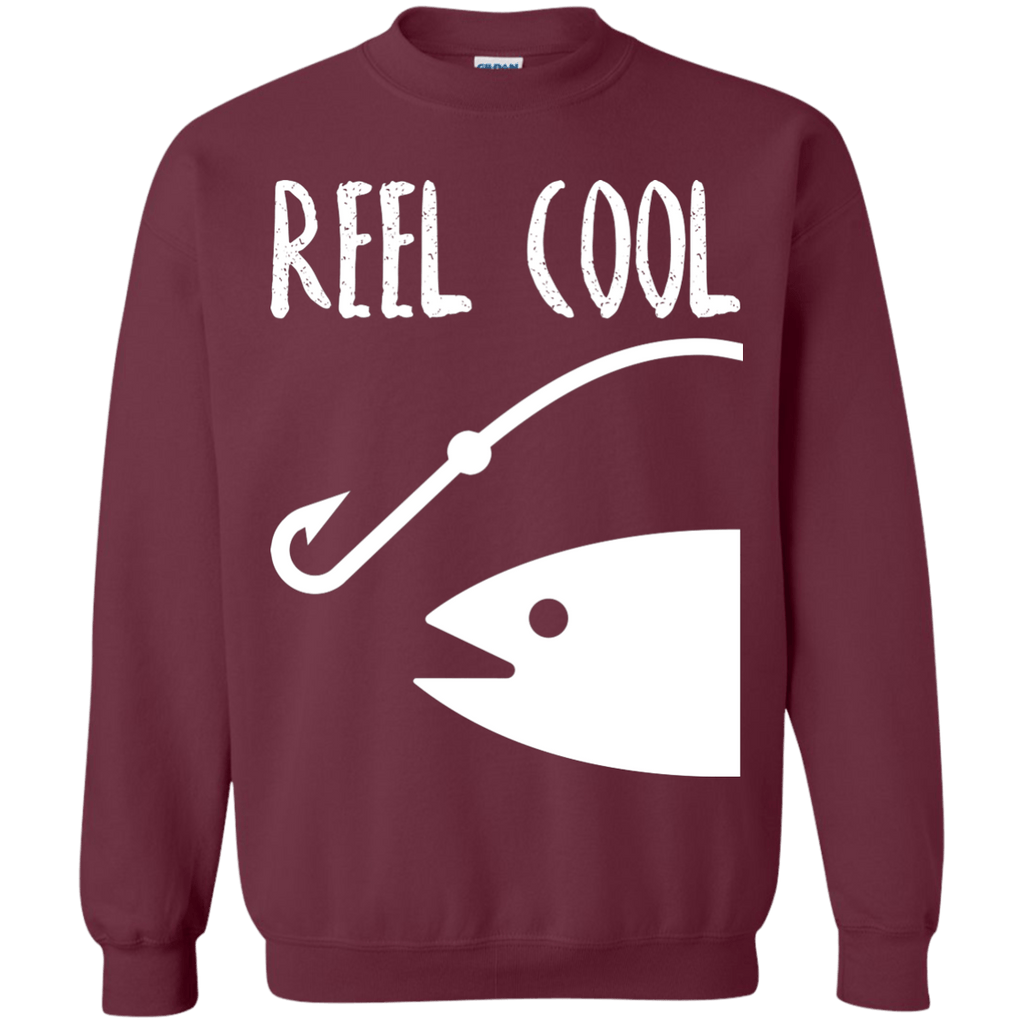 Reel Cool Fishing Sweatshirt  8 oz.