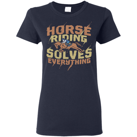 Image of Horse Riding Solves Everything
