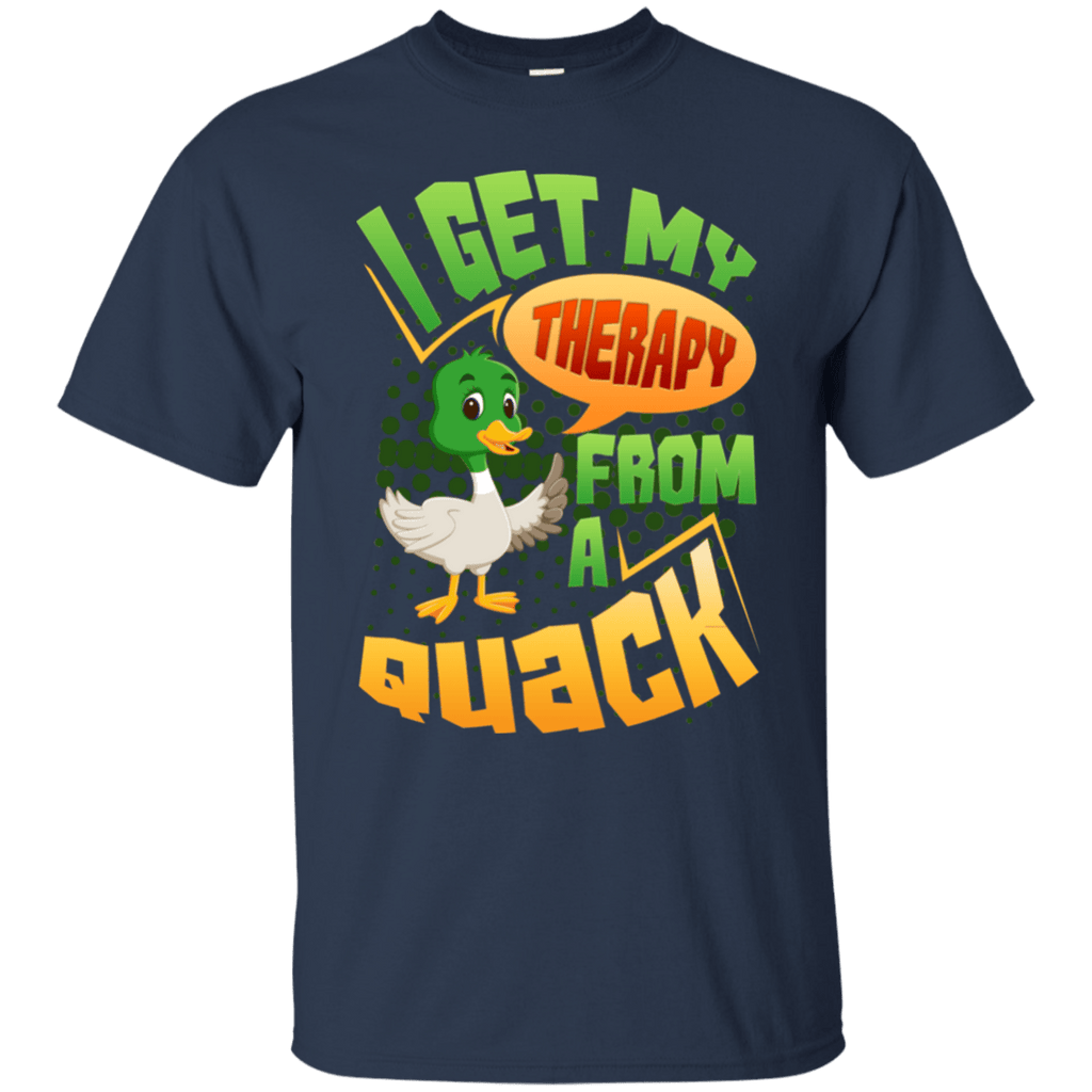 I Get My Therapy From A Quack Hunting