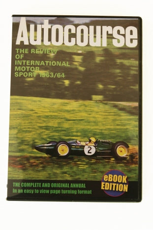 Autocourse 1963/64 Book