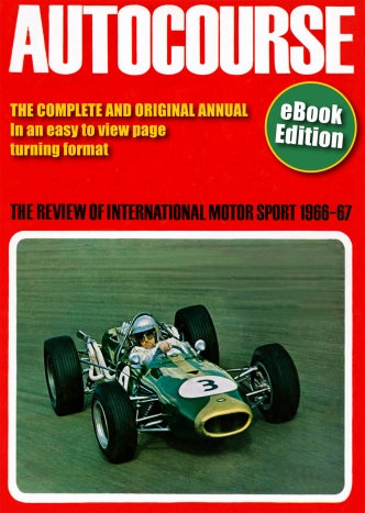 Autocourse 1966/67 eBook
