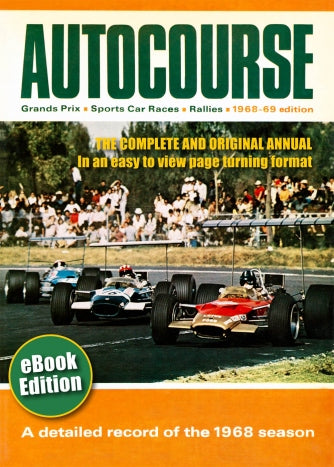 Autocourse 1968 eBook