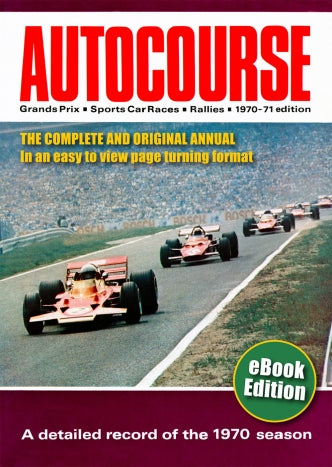 Autocourse 1970 eBook