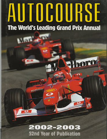 Autocourse 2002 Annual