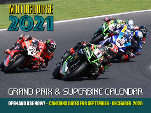 MOTOCOURSE 2021 Grand Prix & Superbike Calendar