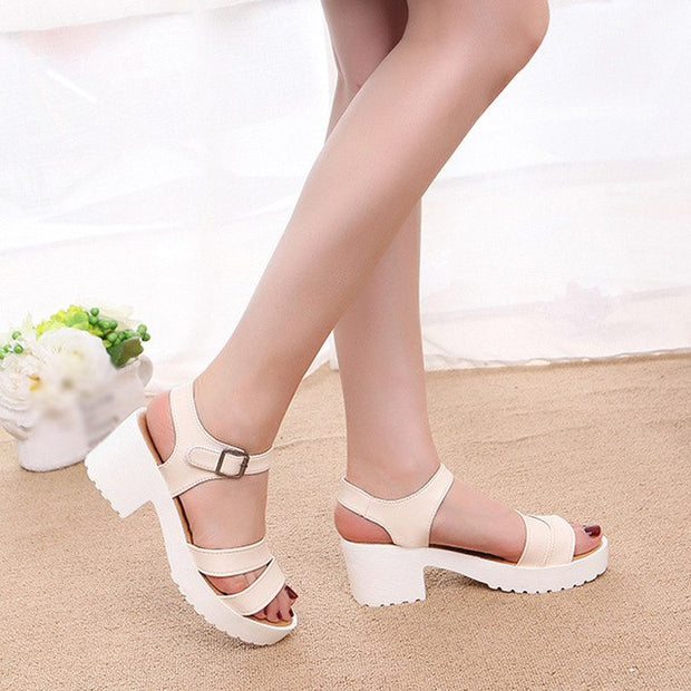 Women's Fashion Outdoor Leather Sandal