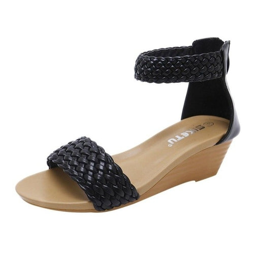 Weave Casual Sandal Wedges