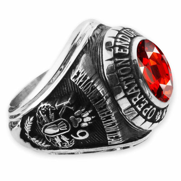 STAINLESS STEEL MASON RING FOR MENS