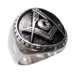 STAINLESS STEEL MASON RINGS FOR MEN'S