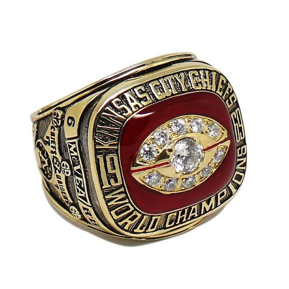 1969 Kansas City Chiefs Championship Ring