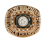 Miami Dolphins Championship Rings Collection 2 Rings