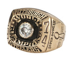 Pittsburgh Steelers Championship Rings Collection 6 Rings