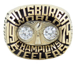 1975 Pittsburgh Steelers Championship Rings