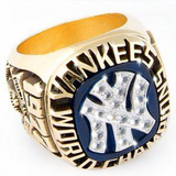 1977 New York Yankees Championship Ring