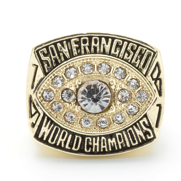 San Francisco 49ers Championship Rings Collection 5 Rings