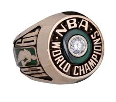 1981 Boston Celtics Championship Ring