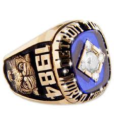 1984 Detroit Tigers World Champions Championship Ring