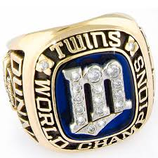 1987 Minnesota Twins Championship Ring
