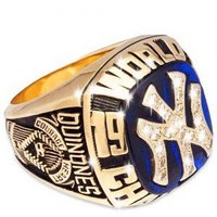 New York Yankees Championship Ring Collection 5 Rings