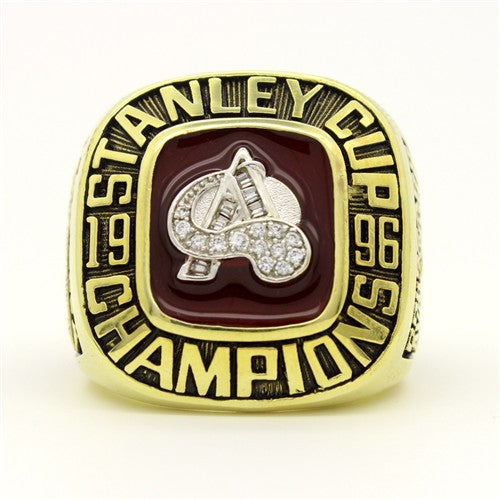 1996 Colorado Avalanche Championship Ring