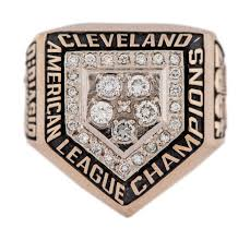 1997 Cleveland Indians American League Championship Ring1997 Cleveland Indians Championship Ring