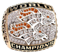 Denver Broncos Championship Rings Collection 3 Rings