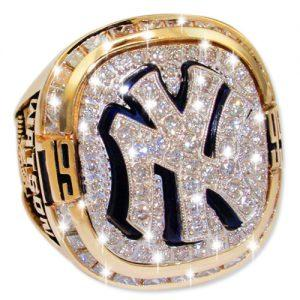 1999 New York Yankees World Series Champions Championship Ring