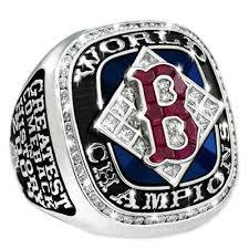 Boston Red Sox Championship Ring Collection Set (5 rings) 2004,2007,2013,2018,2019