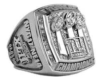 2007 New York Giants Championship Ring