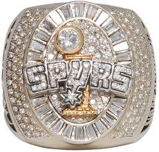 2007 San Antonio Spurs Championship Ring