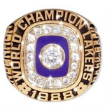 1988 Los Angeles Lakers Championship Ring