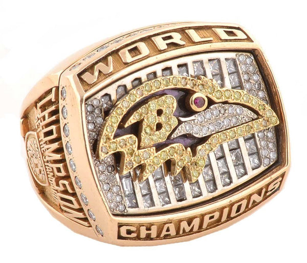 2000 Baltimore Ravens Championship Ring