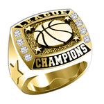 League Champions Basketball Ring