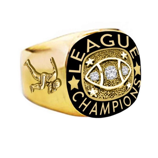 League Champions Football Ring
